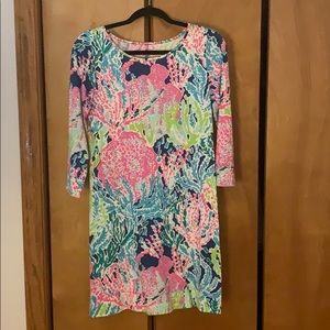 Lilly Pulitzer Marlowe Long Sleeve Dress Sz S